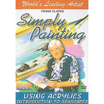 Using Acrylics Introduction to Seascapes [DVD] USA import
