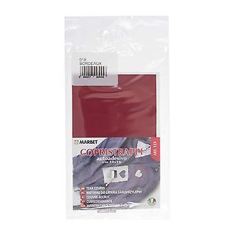 Marbet MB123.018 | Repair Fabric | Iron-On | 16 x 10cm | Wine