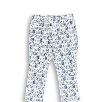 Laurie Felt Women's Jeans Power Silky Denim Printed Capris Blue A305688