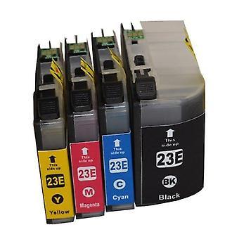 LC-23E Premium Inkjet Cartridge Set (4 Cartridges)
