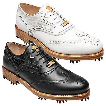 Callaway Golf Mens Classic Wing S Premium Leather Golf Shoes