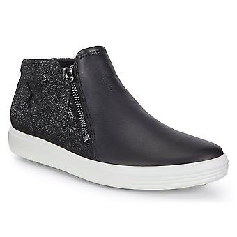 ECCO Naisten pehmeä 7 kaksinkertainen zip kengät