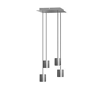 Lyra 4 Mini Pendant Lighting Nickel