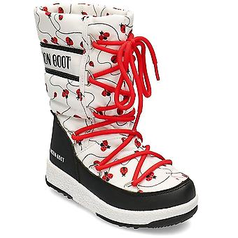 Moon Boot Junior Ladybug WP 34052200001 universal winter kids shoes