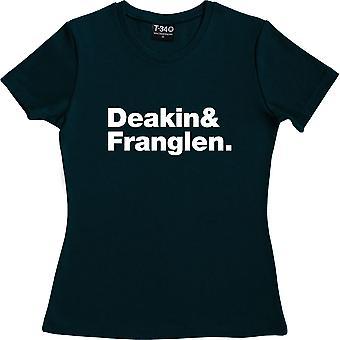 Zitrone Gelee Line-Up Marine blau Frauen's T-Shirt