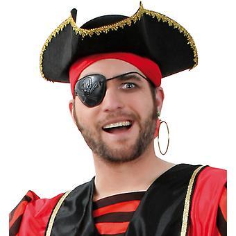 Pirater kaptein trekantet lue