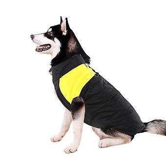 Σκύλος μπουφάν ενισχυμένο αδιάβροχη ρούχα για κατοικίδια σούπερ θερμό μεγάλο