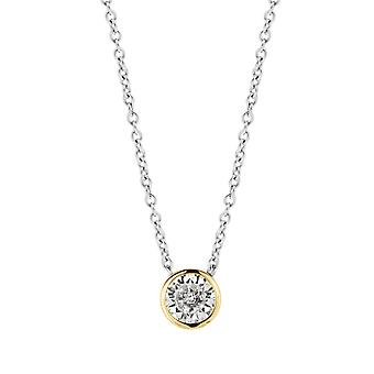 Ti Sento Poolside reflections 3845ZY-42 - necklace silver necklace and dor woman closed seam zirconium oxide