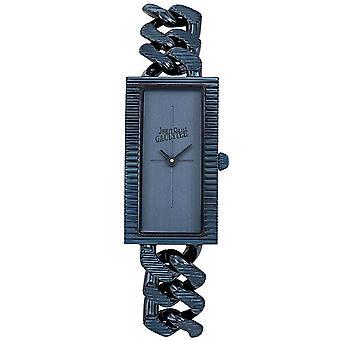 Montre Jean-Paul Gaultier 8506303 - Bo�tier Acier Bleu Bracelet Acier Bleu Cadran Bleu Femme