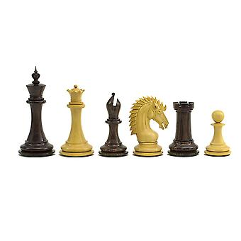 The Sheffield Knight Rosewood Chessmen 4.25 inch