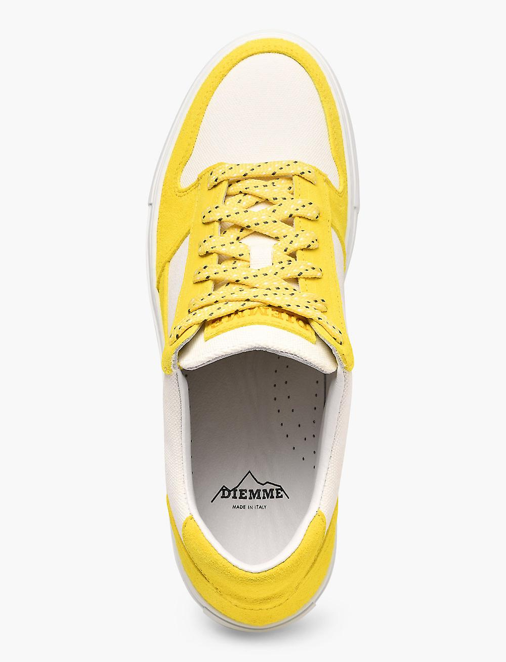 Brenta Giallo Suede Basse Sneakers ZwtCp8