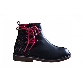 Girl's Billieblush Girls Billieblush Navy Leather Boots