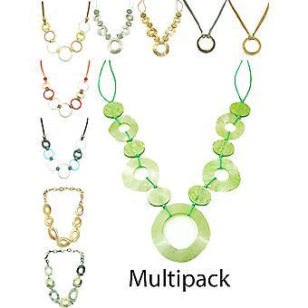 Dlhé reťaze multipack náhrdelníky