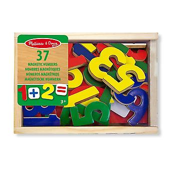 Melissa & Doug Wooden Magnetic Set Number, Letters Animals or Dinosaurs 3yrs+