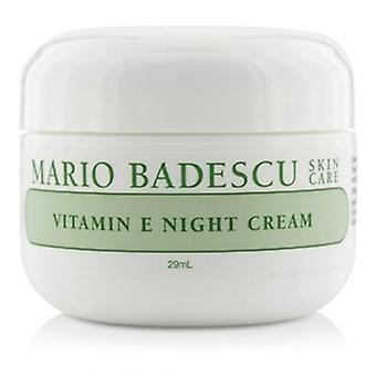 Mario Badescu Vitamin E Night Cream - För torr / känslig hud typer 29ml/1oz