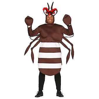 Mens Mosquito Fancy Dress Kostuum