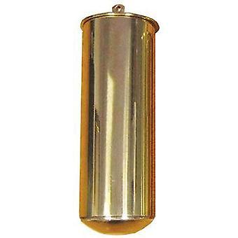 Clock weight longcase weight (12lb) brass cased