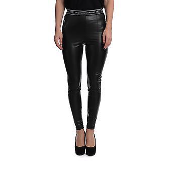 Ermanno Scervino D367p343eyu95708 Women's Black Nylon Leggings