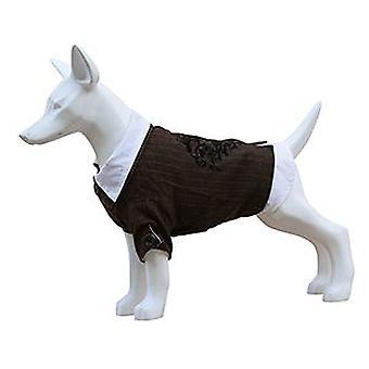 Freedog kostym med skjorta t-20 (hund, hundkläder, kostymer)