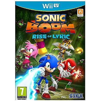 Sonic Boom anledning af Lyric Wii U spil