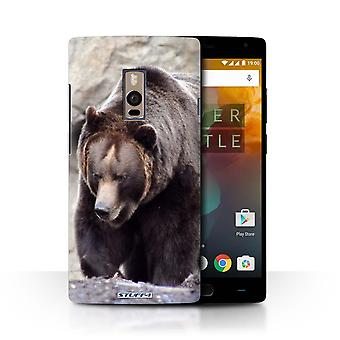 STUFF4 Gehäuse/Deckel für OnePlus 2/2/Bär/Wildlife Tiere