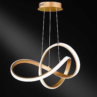 WOFI Indigo 44 Watt Led Ceiling Pendant Light In Gold Finish 6134.01.15.7000