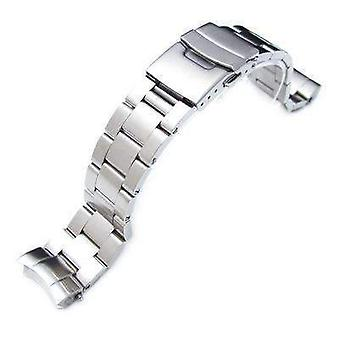 Strapcode watch bracelet 20mm super oyster watch band for seiko sumo sbdc001, sbdc003, sbdc005, sbdc031, sbdc033