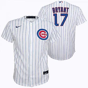 Nike Mlb Chicago Cubs Kris Bryant Home Twill Youth Jersey