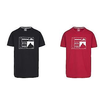 Hausfriedensbruch Mens Snowdon T-shirt