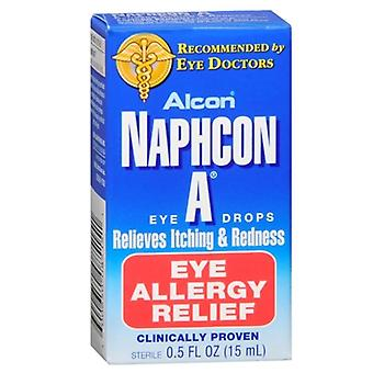 Alcon naphcon, un œil allergy relief collyre, 0.5 oz