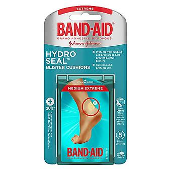 Band-aid hydro seal bandages blister cushions, medium, 5 ea