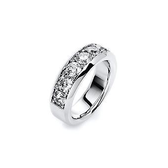 Diamanten ring - 18K 750/- Wit goud - 1.97 ct.