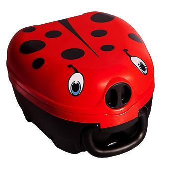 My carry potty - travel potty - ladybug