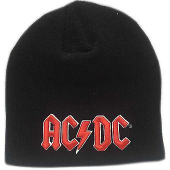 AC / DC بيني هات الكلاسيكية الأحمر 3D باند شعار الجحيم أجراس جديدة رسمية سوداء