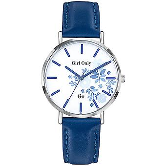 -Watch Girl Only 699010 GB leather blue woman