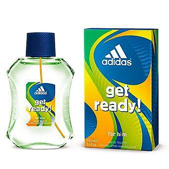 ¡Los hombres y el perfume se preparan! Adidas EDT (100 ml)