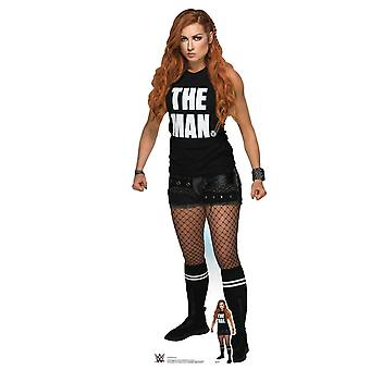 Becky Lynch in Shorts WWE Lifesize Cardboard Cutout / Standee / Standup