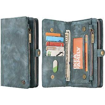 CaseMe Vintage Wallet Case Hoesje Samsung Galaxy S8 Plus - Grijs