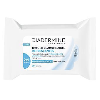 Diadermine Toallitas Desmaquillantes Cara Y Ojos PNM 40 UDS pre ženy