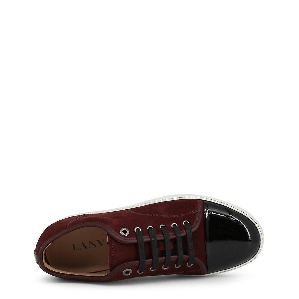Chaussures de baskets en cuir homme l60951