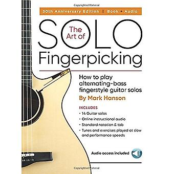 Hark Hanson - The Art Of Solo Fingerpicking (Book/Audio Online) by Mar