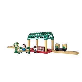 Thomas & Friends Playset Wood Knapford Bahnhof Set Toy