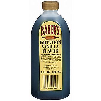 Baker ' s imitație de vanilie aroma 8 oz sticla