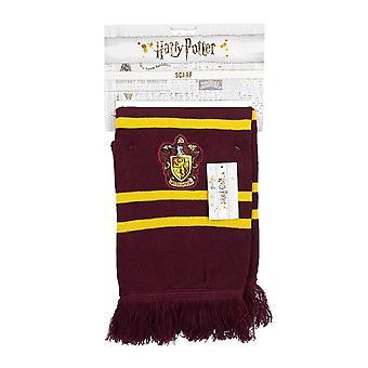 Harry Potter Hogwarts Gryffindor House Crest Knitted Scarf