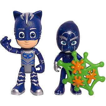 PJ Masks, Action Figures - Catboy and The Night Ninja