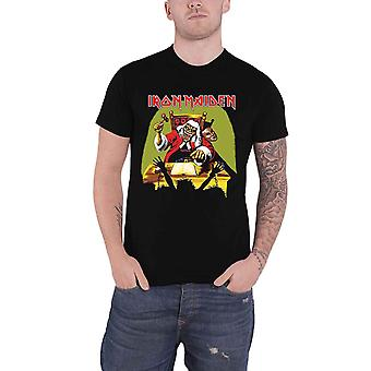 Iron Maiden T Shirt Surdo Sentence Banda Logo novo Official Mens Black