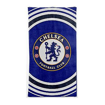Chelsea FC Official Beach Towel Pulse Design