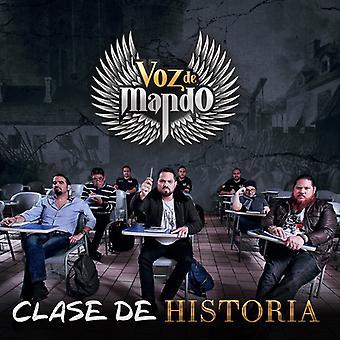 Voz De Mando - Clase De Historia [CD] USA import