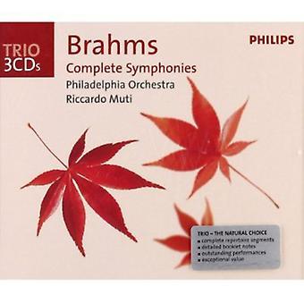 J. Brahms - Brahms: Complete Symphonies [CD] USA import