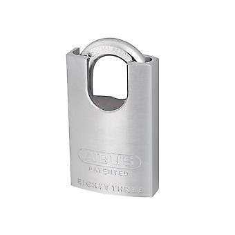 ABUS 83/50mm Chrome Plated Brass Padlock Hardened Closed Shackle ABU8350CSC